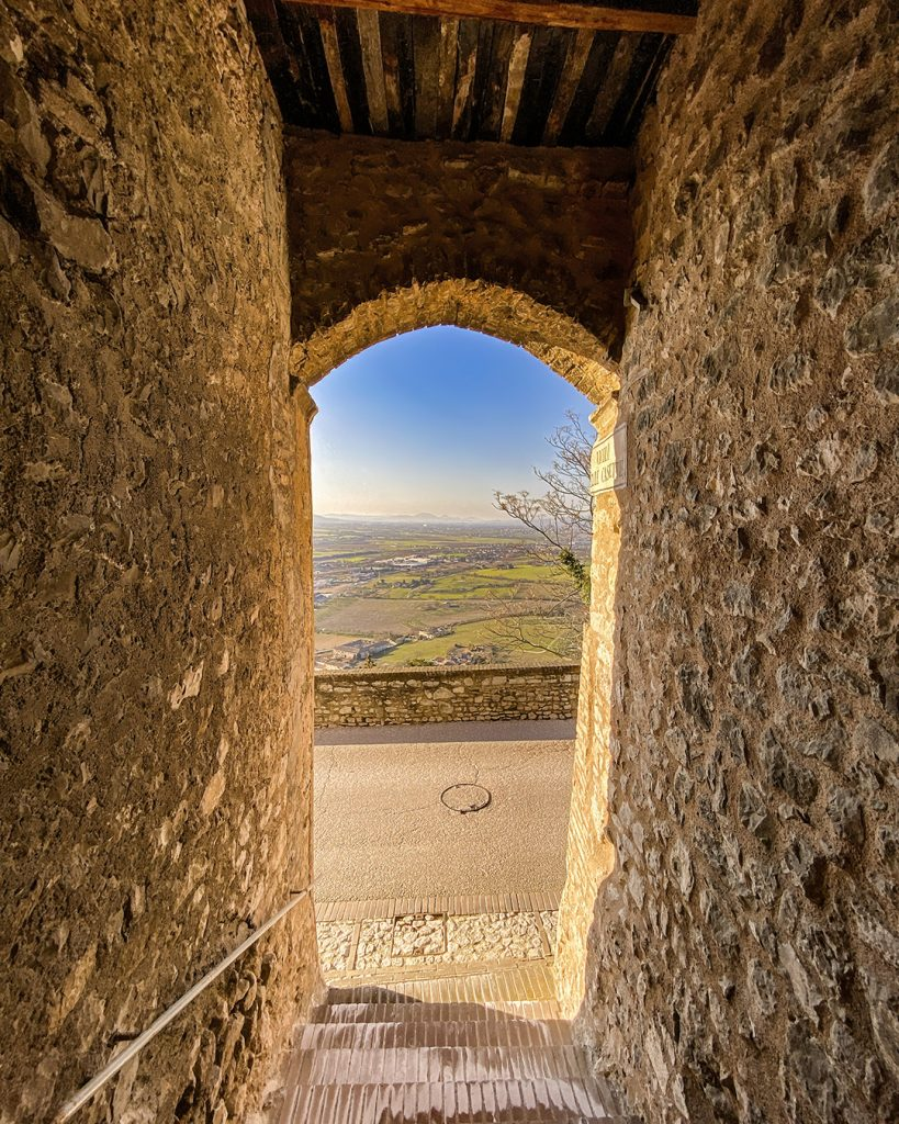 View from Amelia, Umbria