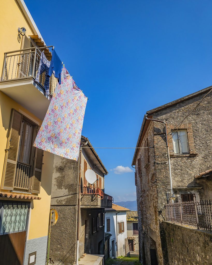 Having out to Dry, Capitone, Umbria