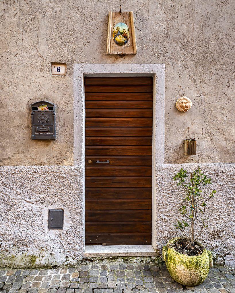 Door Way, Castel Dell'Aquilla, Umbria